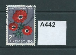 Luxembourg 1956 Mondorf-les-Bains Flower Show 2F