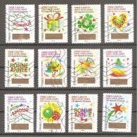 FRANCE - 2016 .timbre A Gratter Serie Complète Oblitérée - France