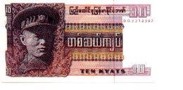 Billete Burna. P-58. 10 Kyat. (ref. 6-417) - Billetes