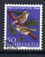 1968; Suisse - Roitelet, Oblitéré, Lot 47242