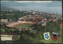 LAUSANNE 1960 : LE STADE OLYMPIQUE. Vue Générale Sur La Ville Et Le Lac Léman - VD Vaud