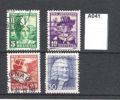 Switzerland 1934 Pro Juventute