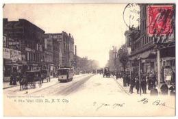 (Etats-Unis) NY 098, New York City, Rotograph Co A 174 A, West 125th St., Tramway, Dos Non Divisé - Non Classificati