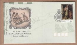 Christmas Island FDC 1996 Tercentenary Of De Vlamingh´s Voyage
