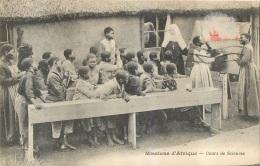MISSIONS D'AFRIQUE COURS DE SCIENCES - Unclassified
