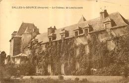 SALLES LA SOURCE LE CHATEAU DE LESCLAUSADE - France