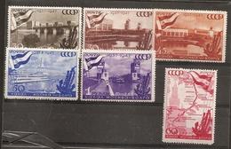 Russia Soviet RUSSIE URSS 1947 Industry Ship  MNH