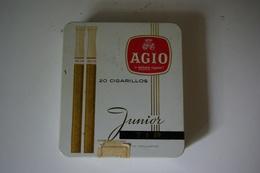 Boite Métal AGIO Cigarillos - Boites à Tabac Vides