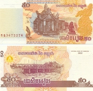 Billete Camboya. P-52. 50 Riels 2002 . (ref. 6-789) - Cambodia