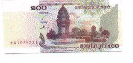 Billete Camboya. P-53. 100 Riels 2001 . (ref. 6-764) - Cambodia