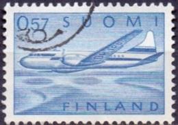 Finland 1970 0.57mk Vliegtuig GB-USED