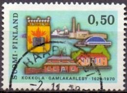 Finland 1970 Gamlakaleby GB-USED