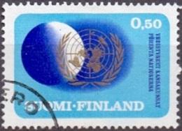 Finland 1970 25 Jaar VN GB-USED