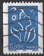 3087A Francia 2005-07 Marianne De Lamouche  Bobina Perf. 13 (ITVF) France Viaggiato Used