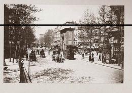 PARIS 1895 DEUX PHOTOS  SAINT MARTINET PALAIS ROYALSUPERBE DEFINITION - Photographs