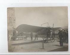 AVIATION SUPERBE PHOTO ANCIENNE D'UN AVION AVEC ANIMATION - Aviation