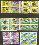 Rwanda Ruanda 1977 OCBn° 811-818 *** MNH 4 Séries Cote 14,00 Euro - 1970-79: Ongebruikt