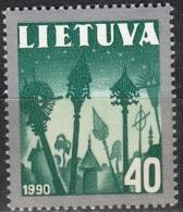 Lietuva 1991 Michel 474 Neuf ** Cote (2013) 0.50 Euro Croix De Chemins - Lituanie
