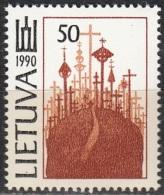 Lietuva 1991 Michel 468 Neuf ** Cote (2013) 1.00 Euro La Colline Des Croix - Lituanie