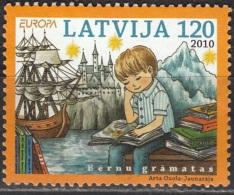 Latvija 2010 Michel 784 O Cote (2013) 3.50 Euro Europa CEPT Livres D'enfants Cachet Rond - Lettonie