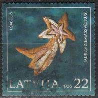 Latvija 2006 Michel 688 O Cote (2013) 0.70 Euro Noël Comète Cachet Rond - Lettonie