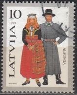 Latvija 1993 Michel 352 O Cote (2013) 0.40 Euro Couple De Alsunga Cachet Rond - Lettonie