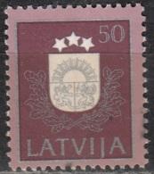 Latvija 1991 Michel 310 O Cote (2013) 1.80 Euro Armoirie Cachet Rond - Lettonie