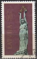 Latvija 1991 Michel 321 O Cote (2013) 0.70 Euro Monument De La Liberté Cachet Rond - Lettonie