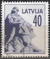 Latvija 1992 Michel 330 O Cote (2013) 0.50 Euro Monument Aux Morts Cachet Rond - Lettonie