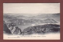 Ticino - MONTE GENEROSO - Vista Verso Melide E S. Salvatore - TI Ticino