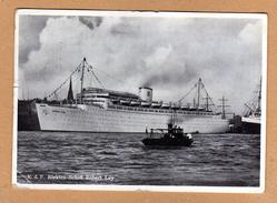 Original Postkarte KDF Elektro Schiff Robert Ley 1939 Super Sonderstempel Schöne Ansicht - Guerra 1939-45