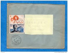 MARCOPHILIE-Lettre -Madagascar -cad Perlé SOALALA 1956-afft 2 Timbres --pour Françe - Madagascar (1889-1960)