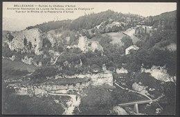 Ruine Du Château D'Arlod - Vue Sur Le Rhône Et La Passerelle D'Arlod - Bellegarde-sur-Valserine