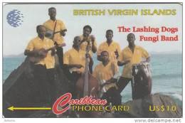 BRITISH VIRGIN ISL.(GPT) - The Lashing Dogs, CN : 103CBVC(Lsi), Tirage 10000, Used - Virgin Islands