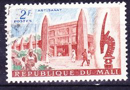Mali - Kunstpalast/Art Palace  (MiNr: 32) 1961 - Gest Used Obl - Mali (1959-...)