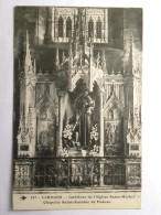 CPM (87) Haute Vienne - LIMOGES - Intérieur De L'église Saint-Michel - Chapelle Saint Antoine De Padoue - Limoges