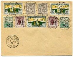 RC 5318 FRANCE  - 1925 LETTRE SAGE ARTS DECO ORPHELINS REMIREMONT VOSGES COVER