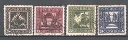 """Österreich 1925: """"Motive Der Nibelungensage"""" Gestempelt (siehe Foto/ Scan) - 1918-1945 1. Republik"""