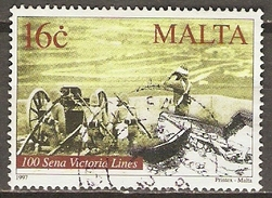 MALTE    -   1997 .   Y&T N° 1005 Oblitéré.