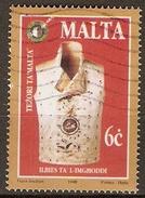 MALTE    -   1998 .   Y&T N° 1007 Oblitéré.    Gilet