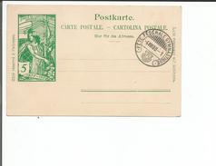 Entier Postal Suisse, Cachet FÊTE FEDERALE GYMNASTIQUE 4.VIII.00 (16) - Entiers Postaux
