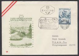 """Austria 1960, FDC Cover """"Grossglockner High Alpine Road"""" W./postmark """"Grossglockner-Hochalpenstrasse"""", Ref.bbzg"""