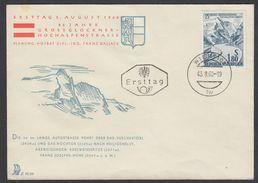 "Austria 1960, FDC Cover ""Grossglockner High Alpine Road"" W./postmark ""Wien"", Ref.bbzg"