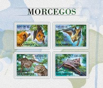 Mozambico 2016, Animals, Bats, 4val In BF