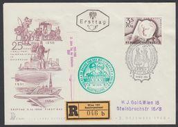 "Austria 1960, Registered FDC Cover ""Stamp Day 1960"" W./postmark ""Wien"", Ref.bbzg"