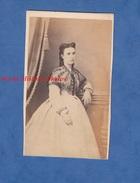 Photo Ancienne CDV Vers 1860 - ALGER / BONE Algérie - Portrait Femme Bourgeoise à Identifier Colon ? Alary & Geiser Mode - Alte (vor 1900)