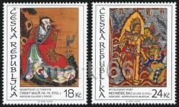 Czech Republic - 2009 - Asian Art On Stamps - Mint Stamp Set - Tchéquie