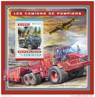 NIGER 2016 ** Fire Engines Feuerwehr Fahrzeuge Camions De Pompiers S/S - OFFICIAL ISSUE - A1706