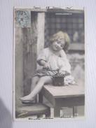 CPA CENDRILLONNETTE  1906 T.B.E  Colorisée Moulin A Cafe En Bois STEBBING - Portraits