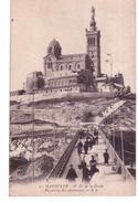 Marseille - Notre Dame De La Garde - Passerelle Des Ascenceur (erreur D'impression) - Notre-Dame De La Garde, Ascenseur